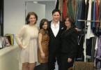 Mary Martha, Rocio, Jamie Falkowski, QVC Media/Public Relations; Me