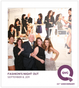 WIth Dennis Basso at QVC FNO event