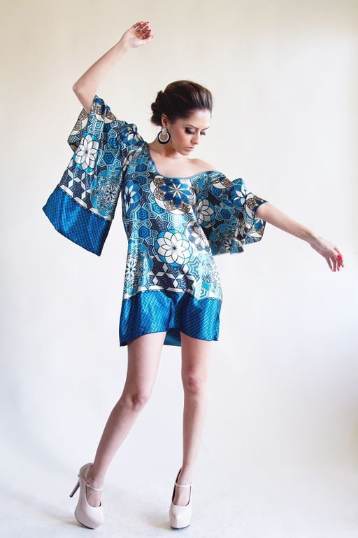 Silk Kimono Dress from VDE, $45.
