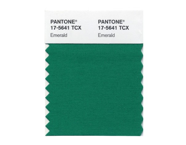 Fashion Color of the Year 04104 Go Green! (Emerald Green, that is. Its the Color of the Year)