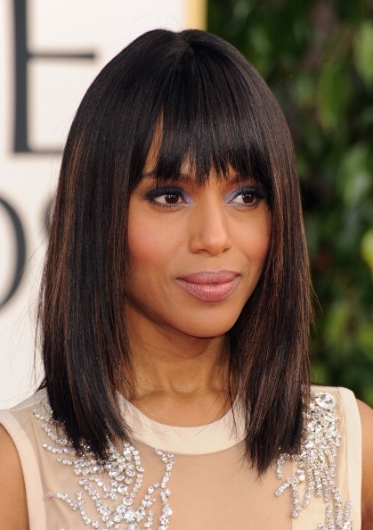 KerryWashingtonGoldenGlobesMakeupAfrobella Get the Look   Kerry Washington at the 2013 Golden Globes