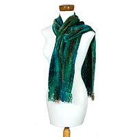 Green Scarf from Novica.com