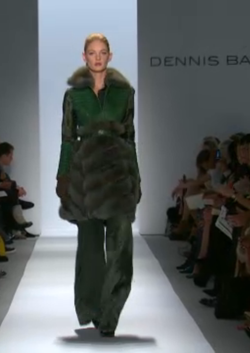 Screen shot 2013 02 12 at 3.35.04 PM Dennis Basso, Fall 2013: A Glamorous Celebration of 30 Years in Fashion