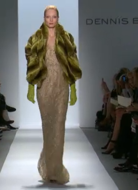 Screen shot 2013 02 12 at 3.39.03 PM Dennis Basso, Fall 2013: A Glamorous Celebration of 30 Years in Fashion