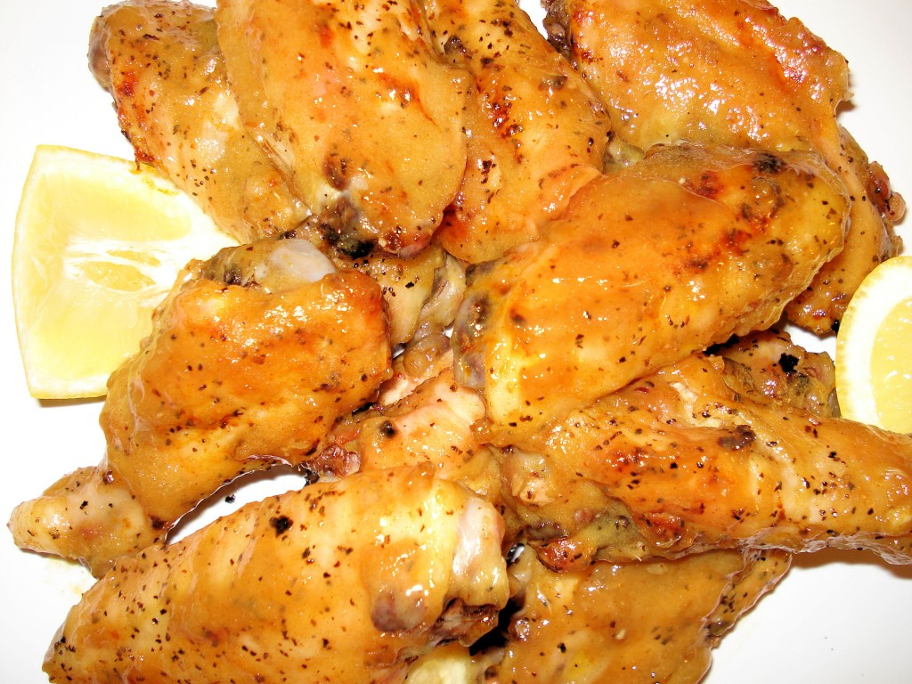 Dijon Honey Chicken Wings 576