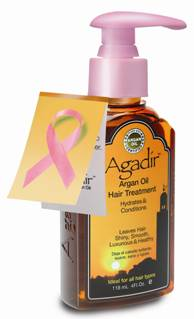Agadir Argan Oil for Breast Cancer Awareness Month
